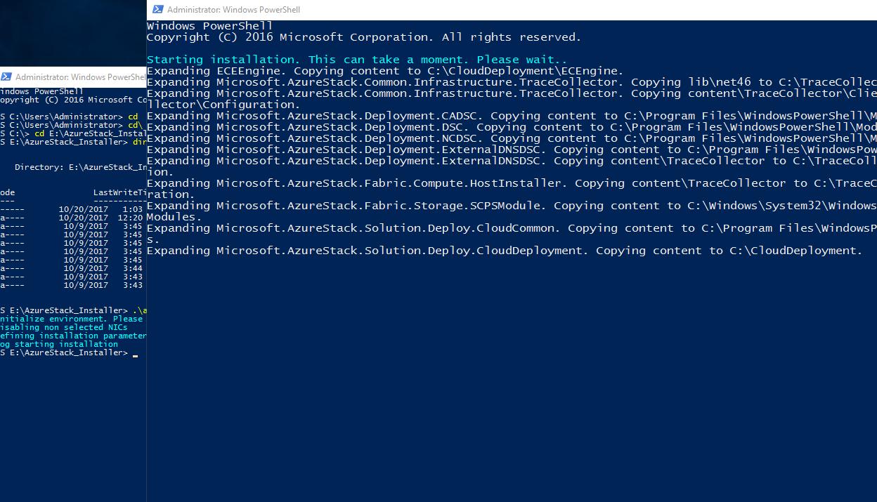 Azure Stack Development Kit – Technology ramblings